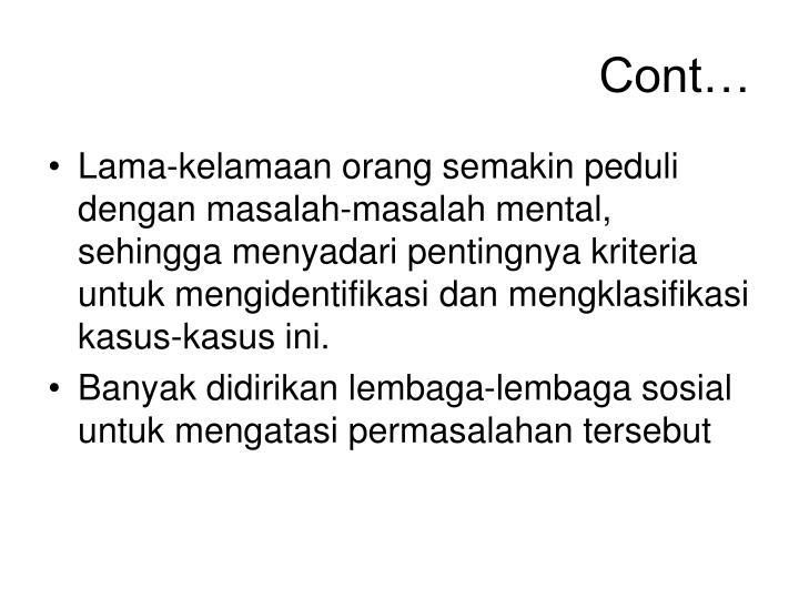 Cont…