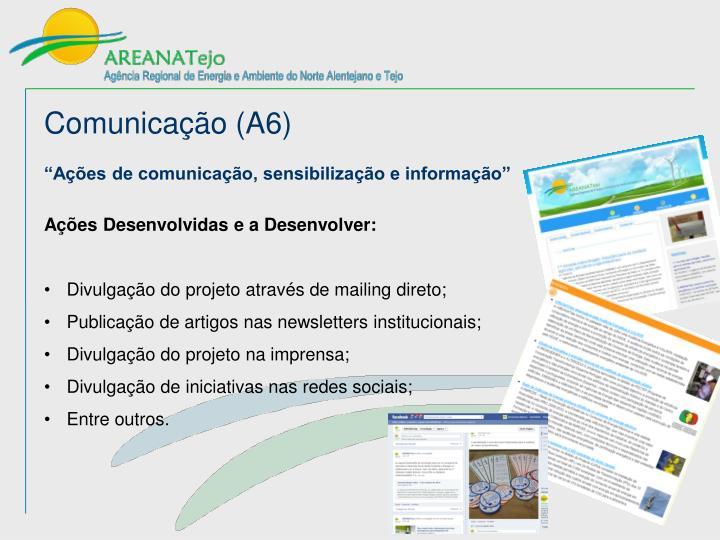 Comunicação (A6)