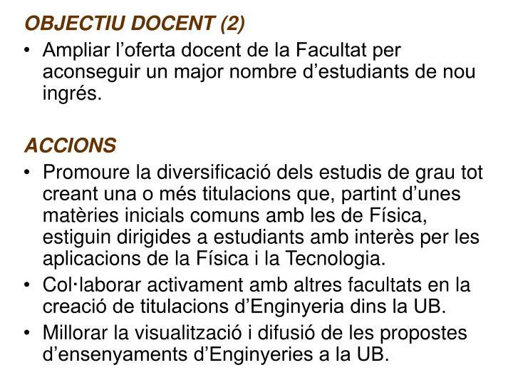 OBJECTIU DOCENT (2)