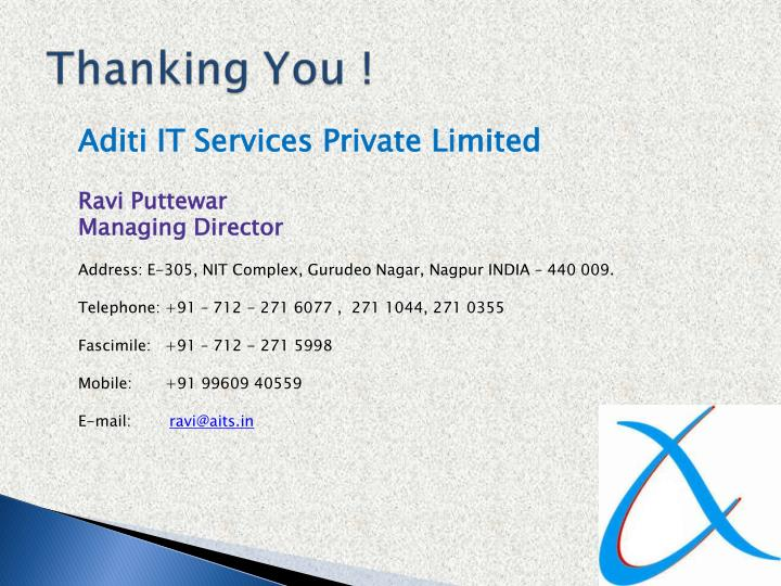 Aditi IT Services Private Limited
