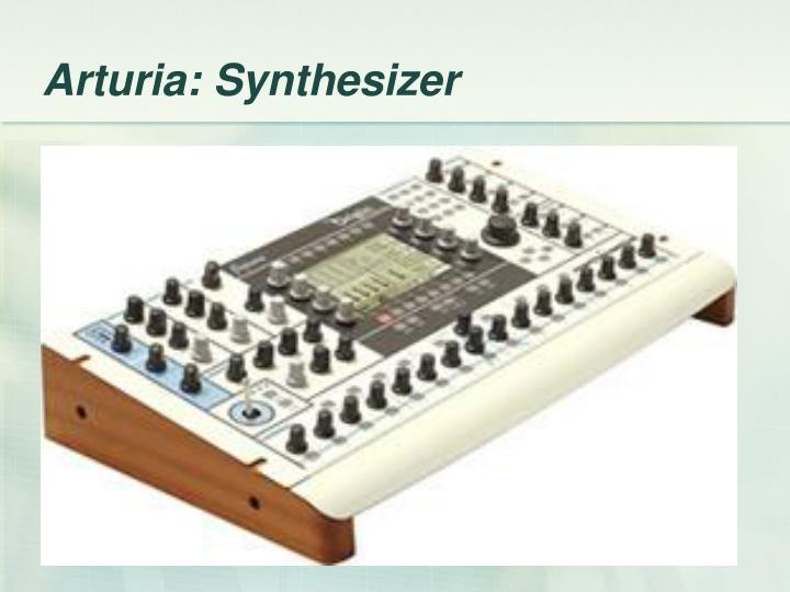 Arturia: Synthesizer