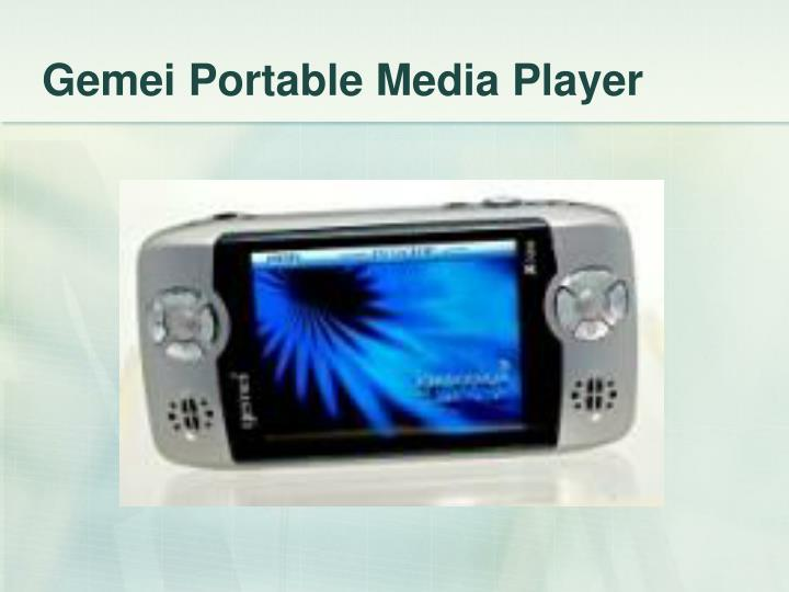 Gemei Portable Media Player