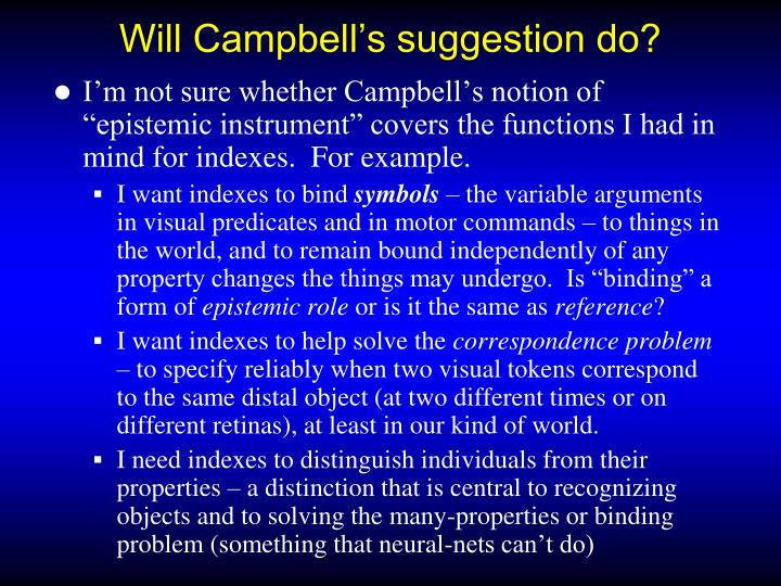 Will Campbell's suggestion do?