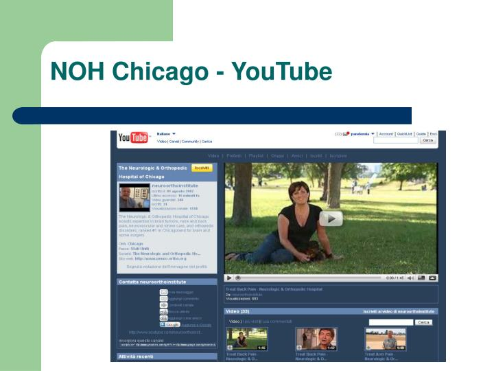 NOH Chicago - YouTube