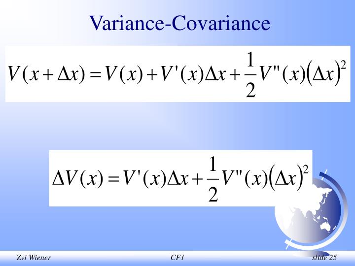 Variance-Covariance