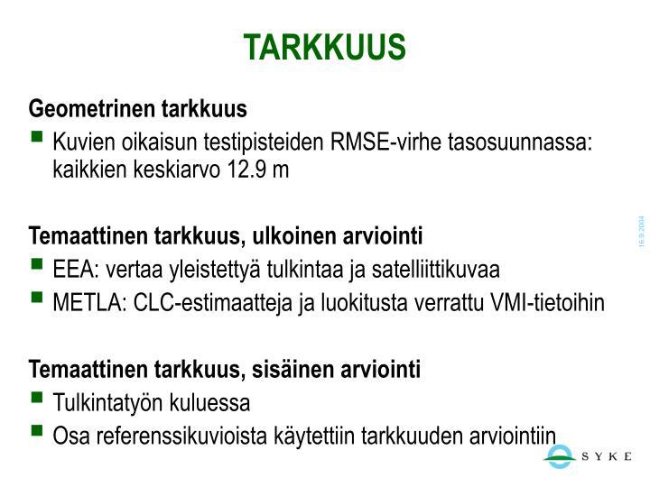 TARKKUUS