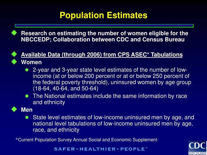 Population Estimates