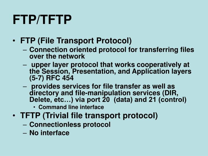 FTP/TFTP