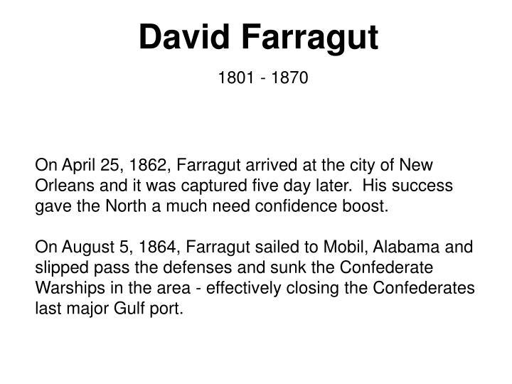 David Farragut