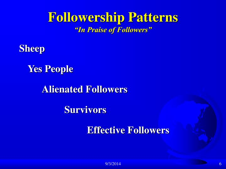 Followership Patterns