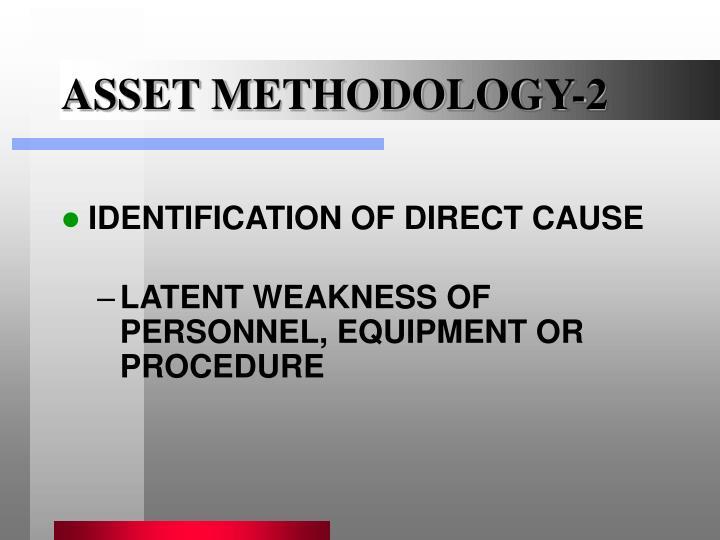 ASSET METHODOLOGY-2