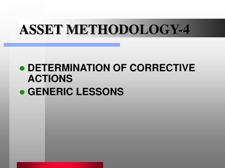 ASSET METHODOLOGY-4