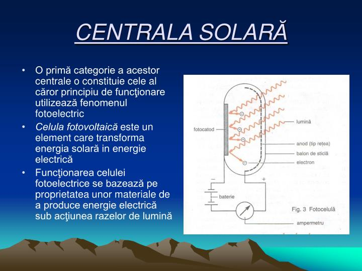 CENTRALA SOLAR