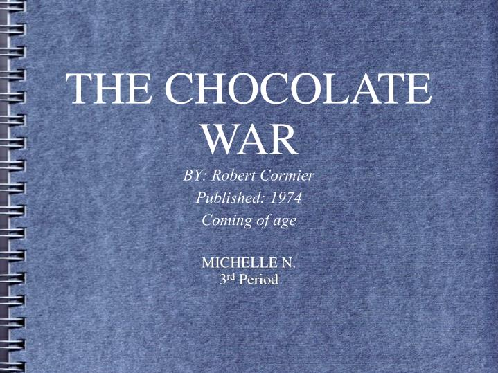 essay questions on the chocolate war