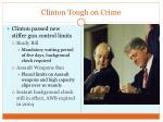 clinton tough on crime
