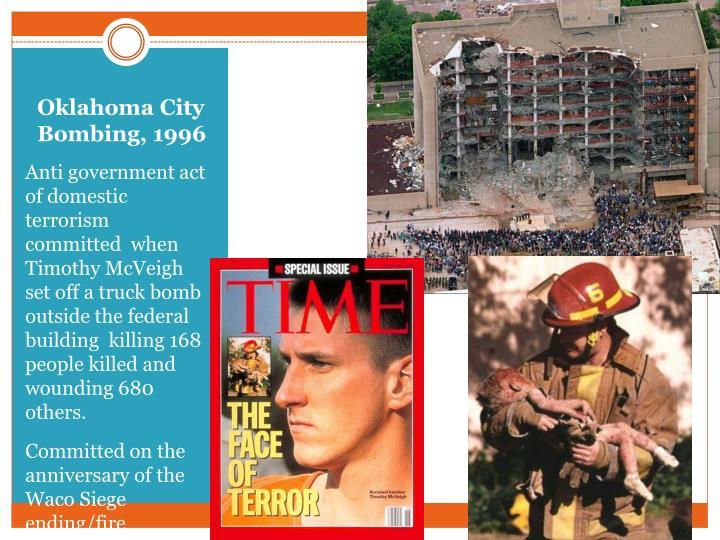 Oklahoma City Bombing, 1996