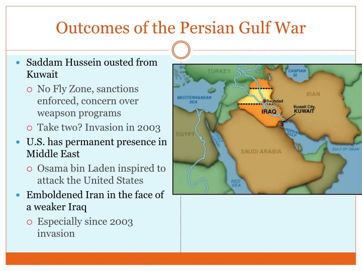 Outcomes of the Persian Gulf War