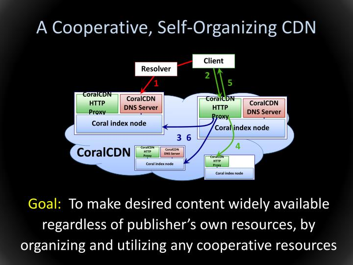 A Cooperative, Self-Organizing CDN