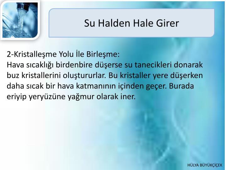 Su Halden Hale Girer