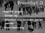 broomball d