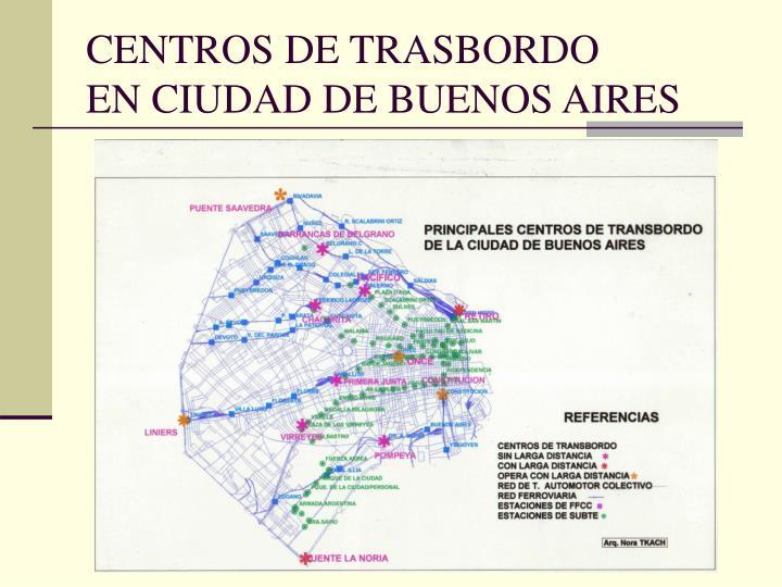 CENTROS DE TRASBORDO