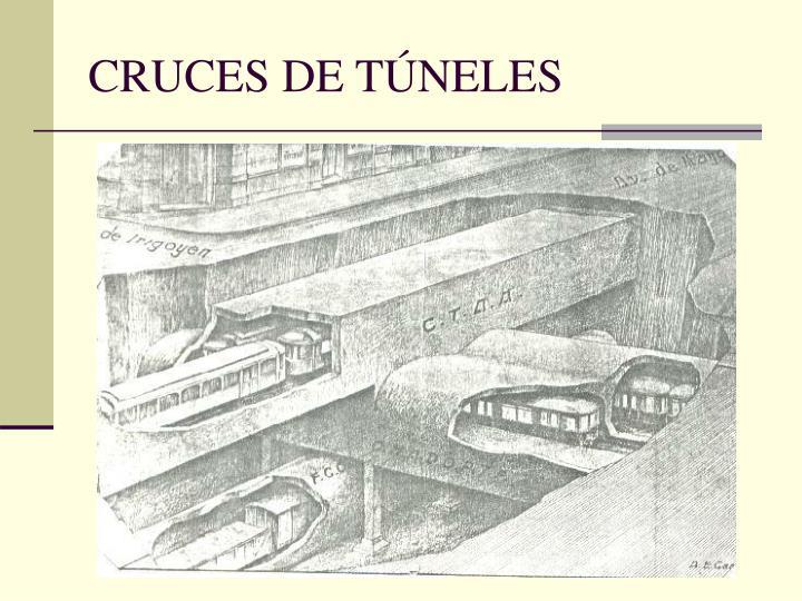 CRUCES DE TÚNELES