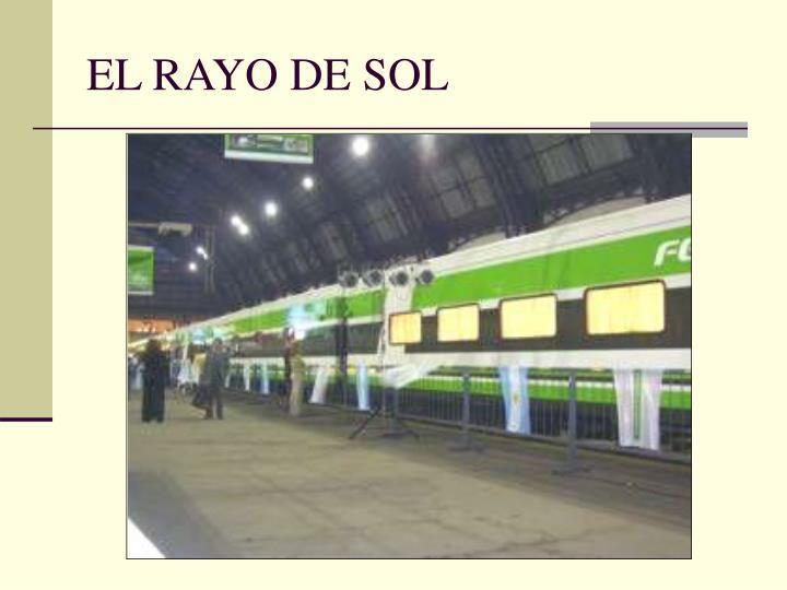 EL RAYO DE SOL