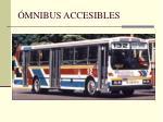 mnibus accesibles