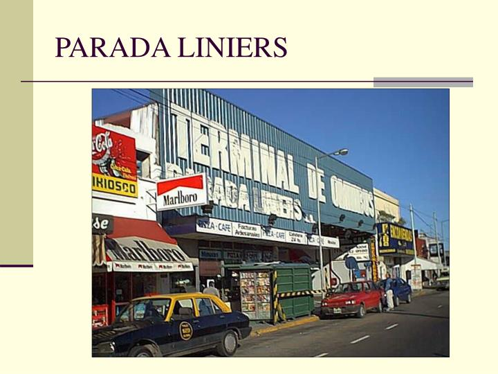 PARADA LINIERS