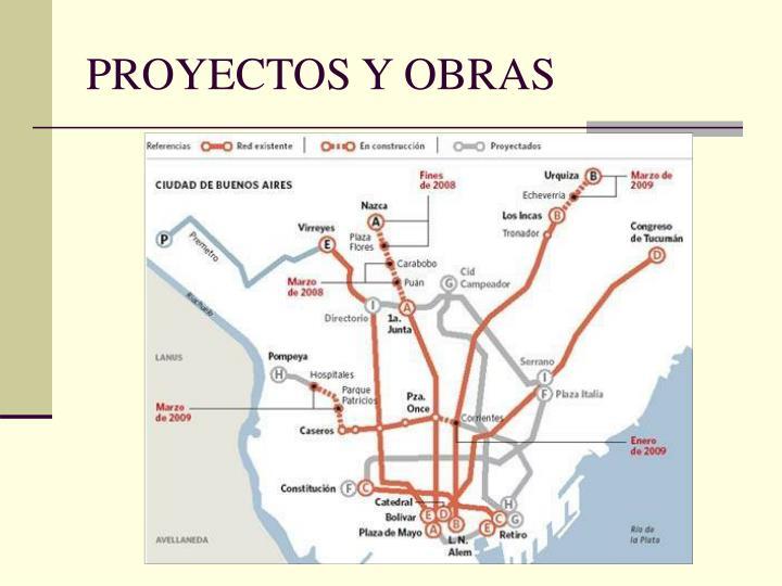 PROYECTOS Y OBRAS