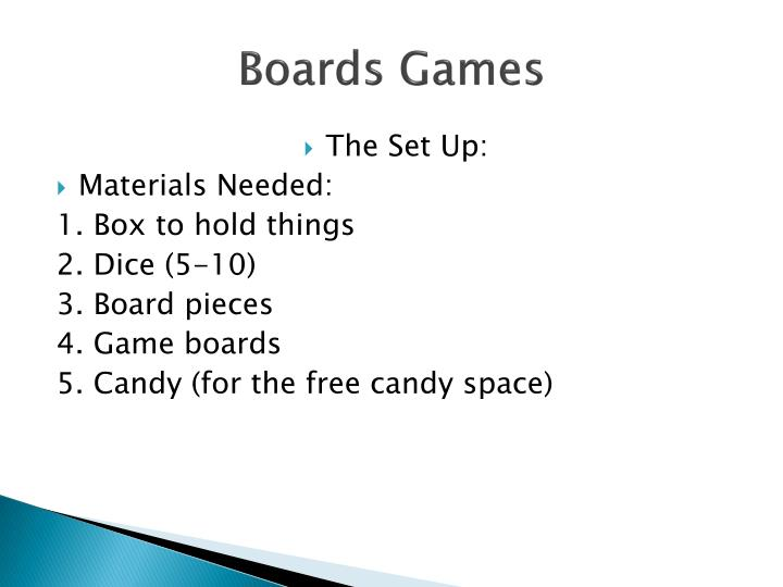 Boards Games