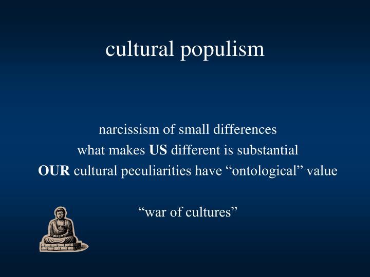 cultural populism