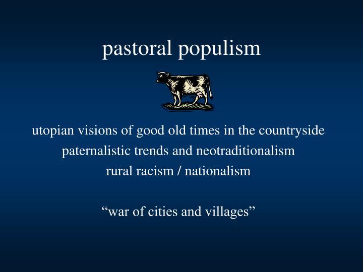pastoral populism