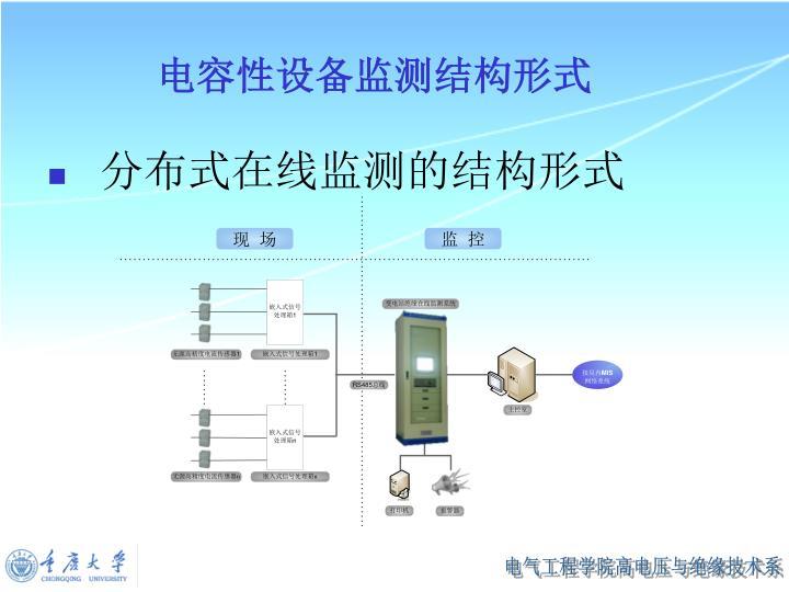 电容性设备监测结构形式