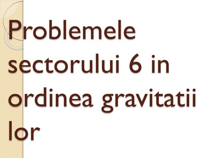 Problemele