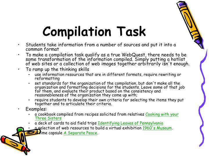 Compilation Task