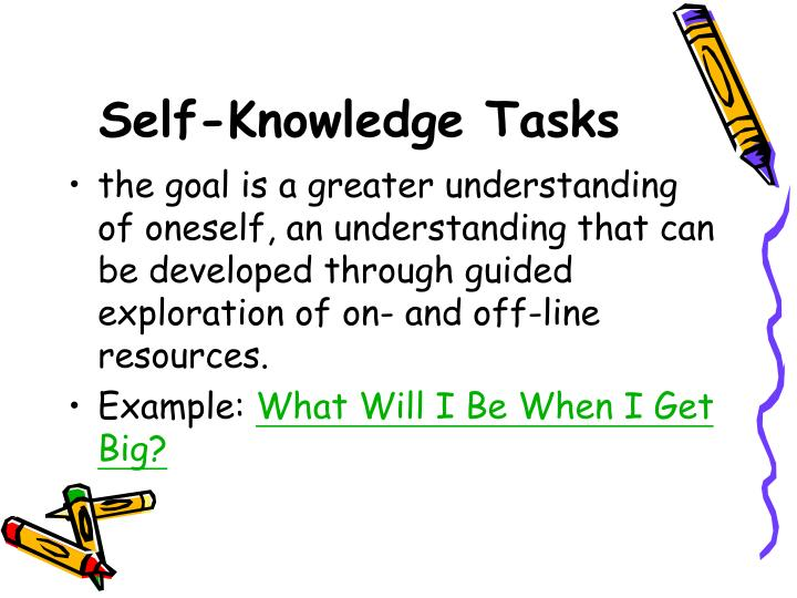 Self-Knowledge Tasks