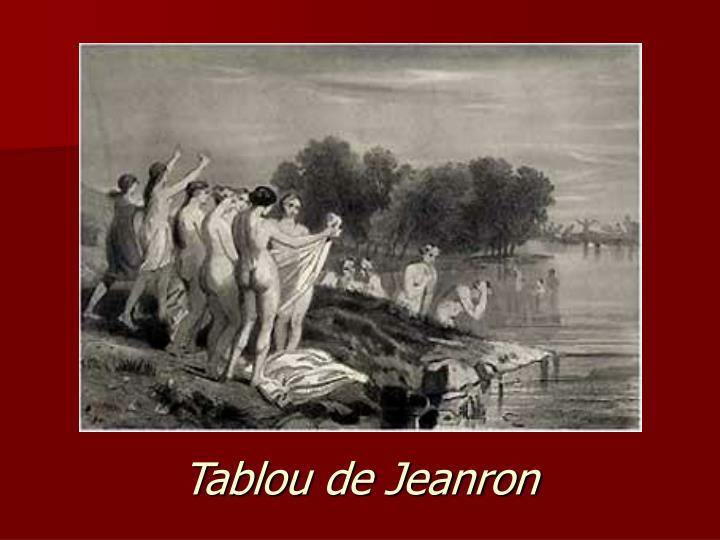 Tablou de Jeanron
