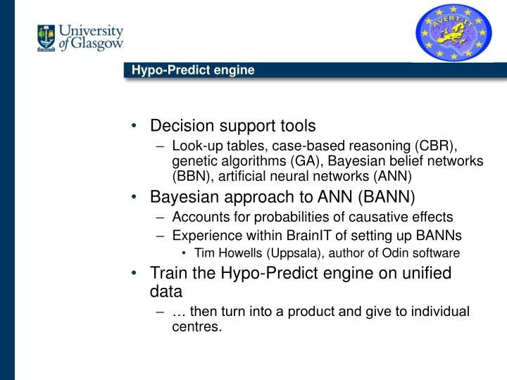 Hypo-Predict engine