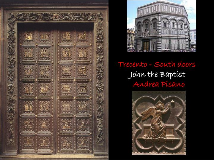 Trecento - South doors