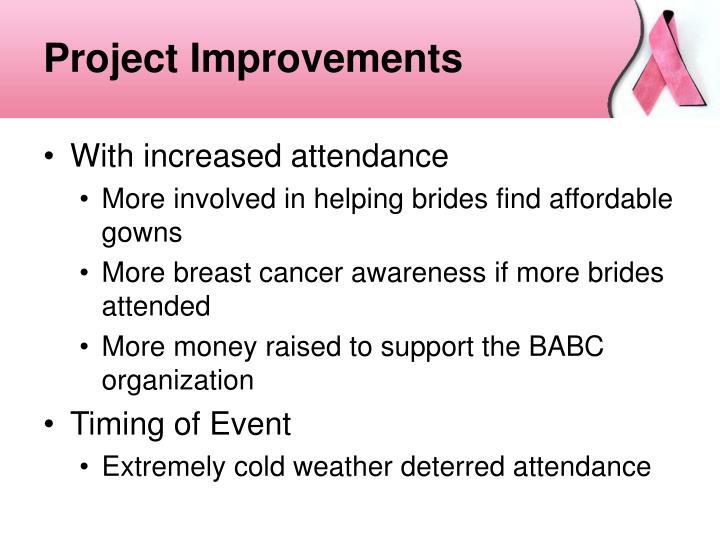 Project Improvements