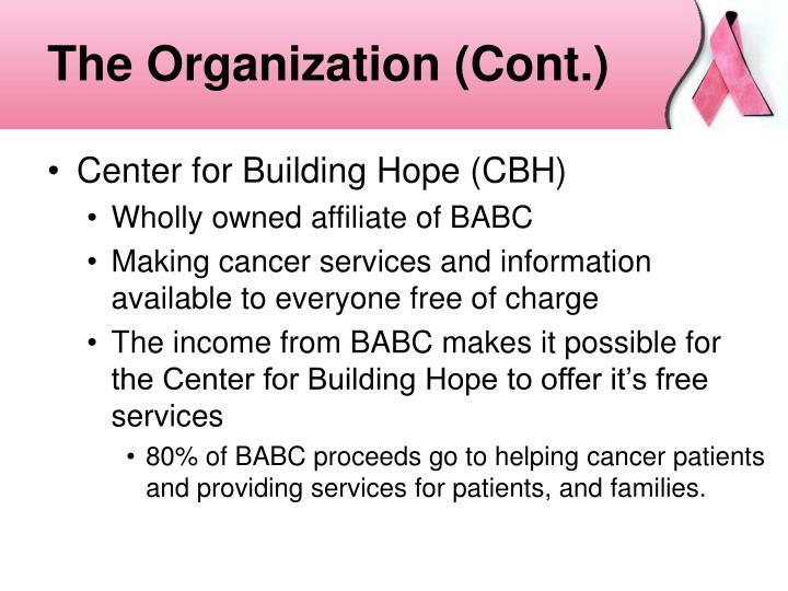 The Organization (Cont.)