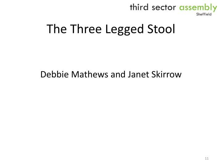 The Three Legged Stool