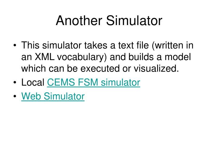 Another Simulator