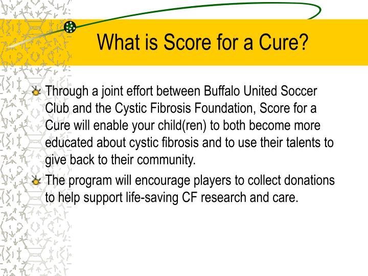 What is Score for a Cure?