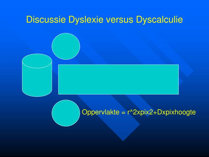 Discussie Dyslexie versus