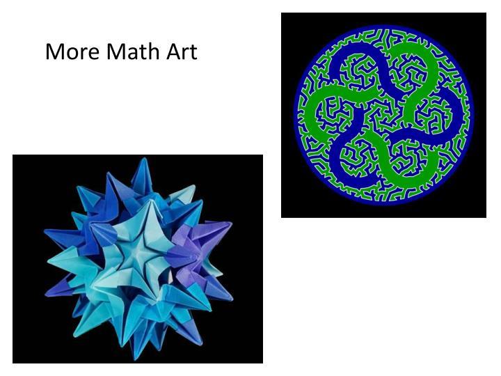 More Math Art