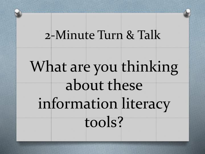 2-Minute Turn & Talk