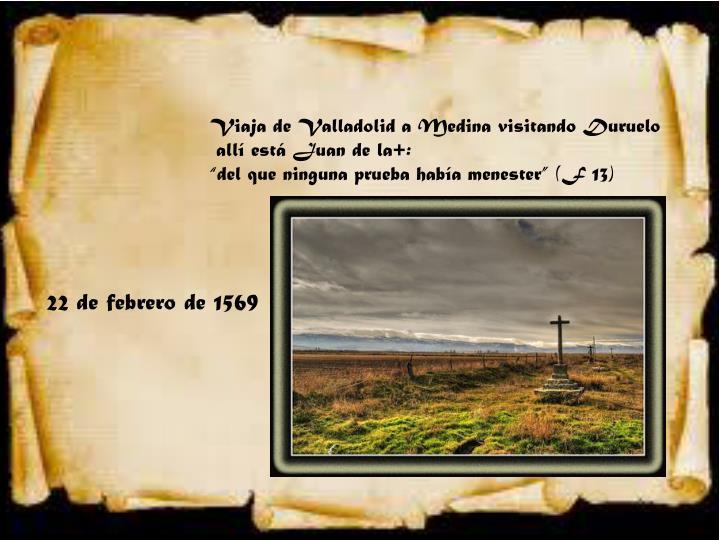 Viaja de Valladolid a Medina visitando Duruelo