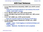 acd cost variances1